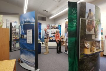 Water/Ways Exhibit in Black Canyon City
